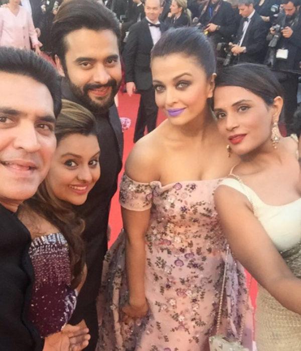 Team Sarbjit at Cannes Film Festival