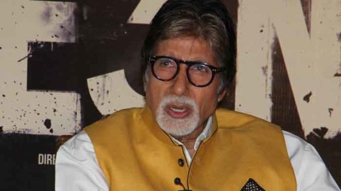 Amitabh Bachchan at TE3N promotions