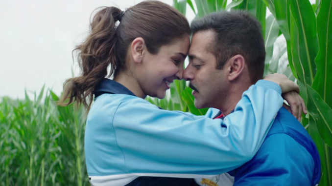 Anushka Sharma, Salman Khan in Sultan