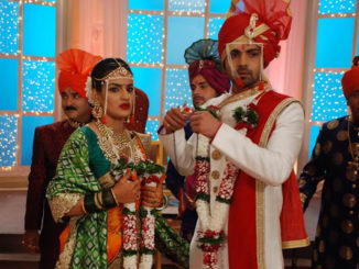 Aryan and Purva's marriage