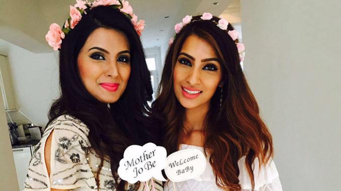 Geeta Basra at her baby shower