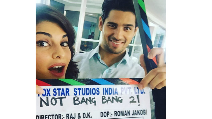 Jacqueline Fernandez, Sidharth Malhotra begin shooting for the film. Image Courtesy: Instagram