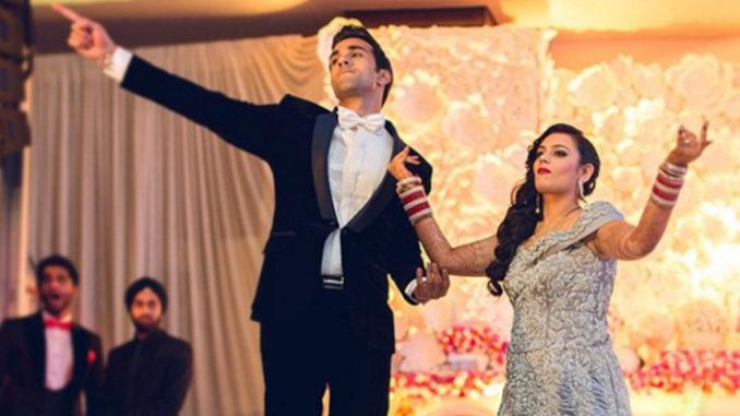 Pulkit Samrat, Shweta Rohit at their wedding in 2014. Image Courtesy: Instagram