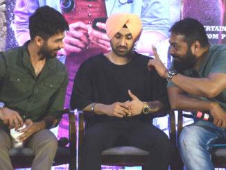 Shahid Kapoor, Diljit Dosanjh, Anurag Kashyap at the press conference