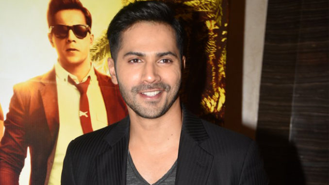 Varun Dhawan at Dishoom trailer launch