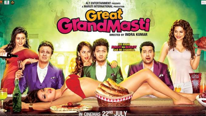 Vivek Oberoi, Riteish Deshmukh, Aftab Shivdasani, Urvashi Rautela in Great Grand Masti