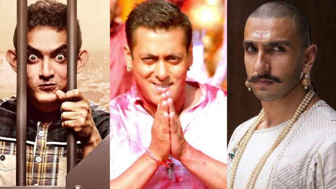Aamir Khan, Salman Khan, Ranveer Singh