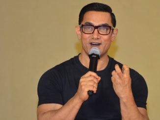 Aamir Khan at Dangal poster launch