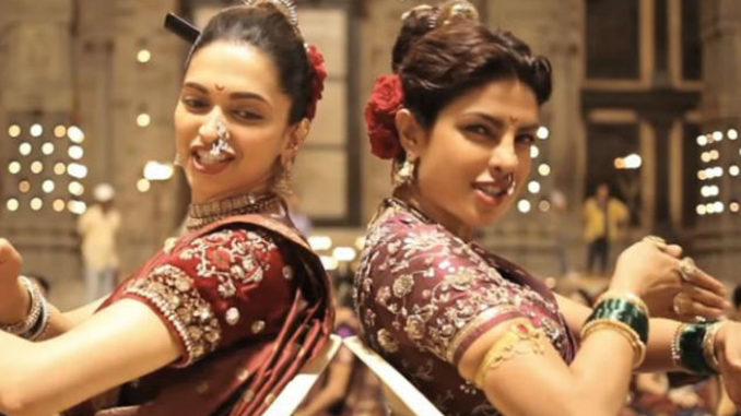 Deepika Padukone, Priyanka Chopra shooting for Pinga