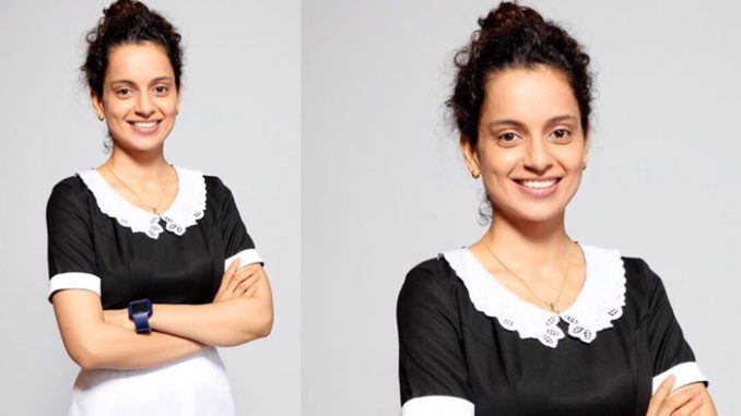 Kangana Ranaut as Praful Patel in Simran