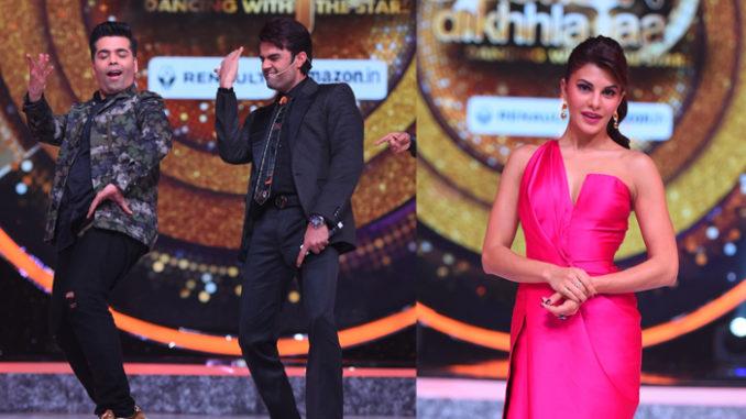 Karan Johar, Manish Paul, Jacqueline Fernandez on Jhalak Dikhhla Jaa 2016 Season Premiere Episode