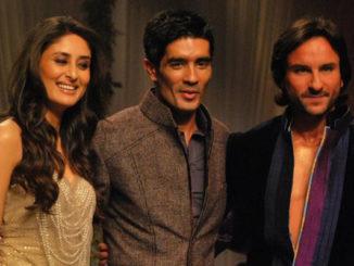 Kareena Kapoor Khan, Manish Malhotra and Saif Ali Khan