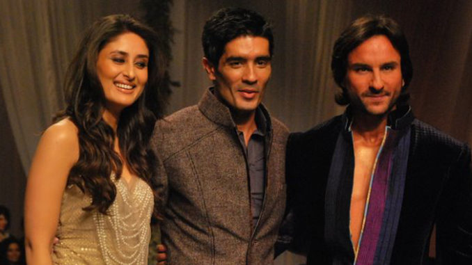 Kareena Kapoor Khan, Manish Malhotra and Saif Ali Khan