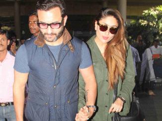 Saif Ali Khan, Kareena Kapoor arrive from their London holiday