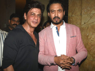 Shah Rukh Khan, Irrfan Khan at the special screening of Madaari