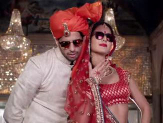 Sidharth Malhotra, Katrina Kaif in Kala Chashma from Baar Baar Dekho