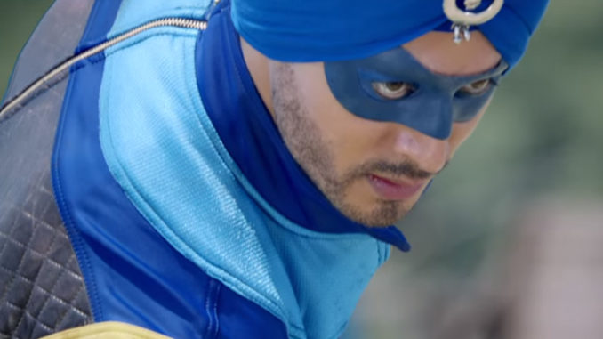 Tiger Shroff in A Flying Jatt