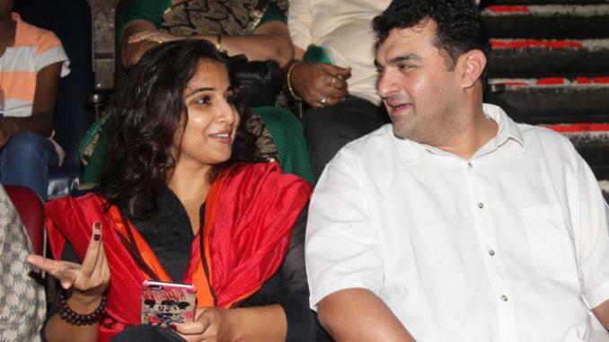 Vidya Balan, Siddharth Roy Kapur at the screening of Kabali