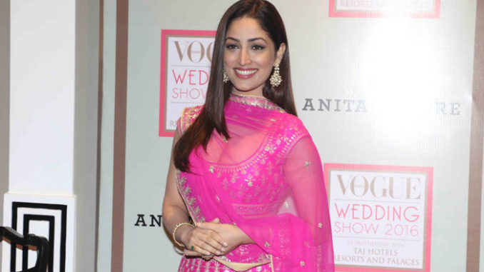 Yami Gautam at the fashion event