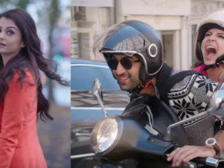 Aishwarya Rai Bachchan, Ranbir Kapoor, Anushka Sharma in Ae Dil Hai Mushkil