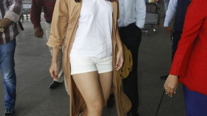 Alia Bhatt spotted at the airport