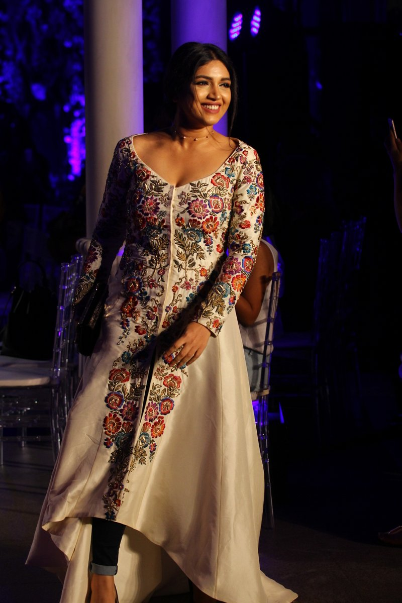 Bhumi Pednekar at Lakme Fashion Week 2016