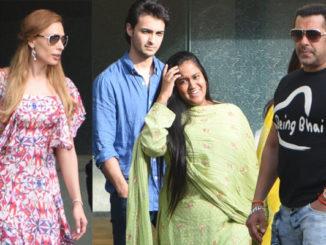 Iulia Vantur, Aayush Sharma, Arpita Khan Sharma, Salman Khan celebrate Rakshabandhan