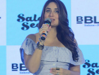 Pregnant Kareena Kapoor Khan at the launch of new B'Blunt range