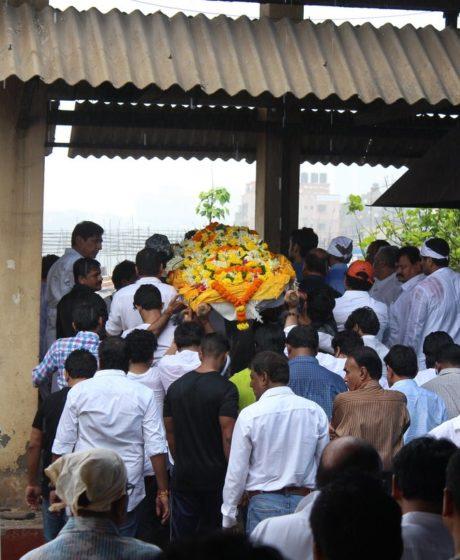Krushna Abhishek's father's funeral