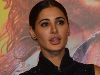 Nargis Fakhri at Banjo trailer launch