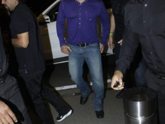 Salman Khan spotted at the airport, departs for Dubai
