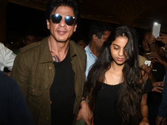 Shah Rukh Khan departs for US with daughter Suhana