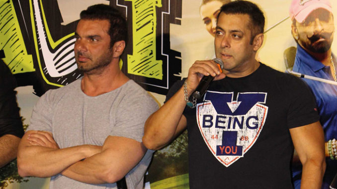 Sohail Khan, Salman Khan at Freak Ali trailer launch