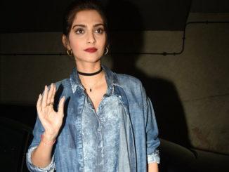 Sonam Kapoor at Chauthi Koot screening