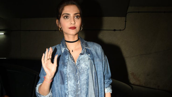 Sonam Kapoor at Chauthi Koot screening