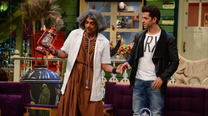 Sunil Grover, Hrithik Roshan on The Kapil Sharma Show