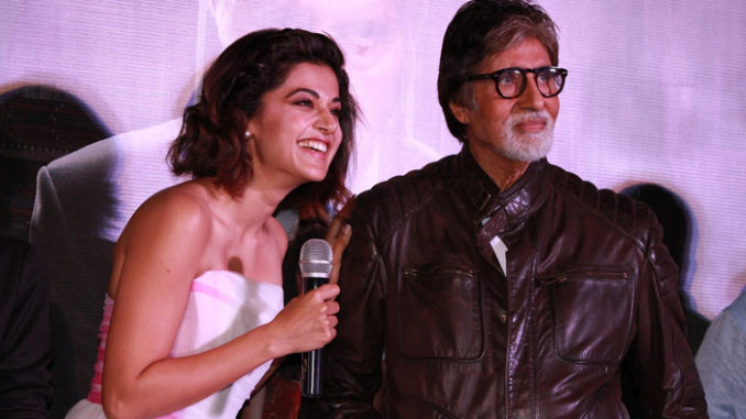 Taapsee Pannu, Amitabh Bachchan at Pink trailer launch