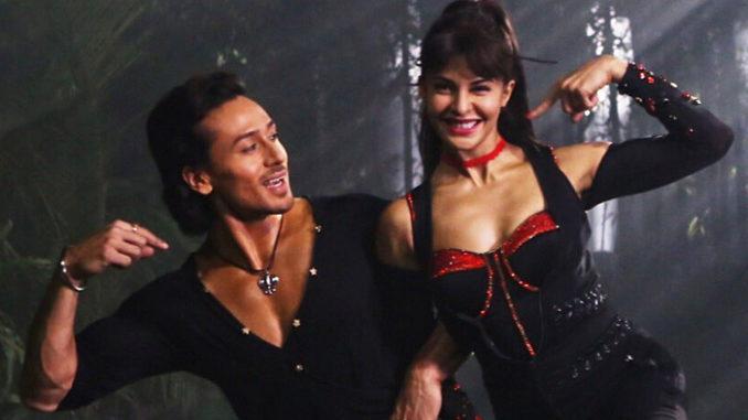 Tiger Shroff, Jacqueline Fernandez in Beat Pe Booty