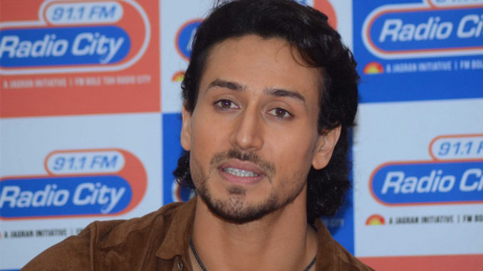 Tiger Shroff at the music launch of A Flying Jatt