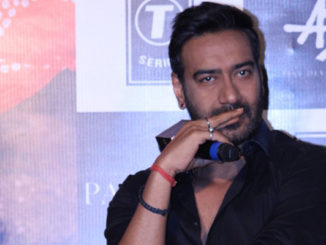 Ajay Devgn at a promotional event for Parched