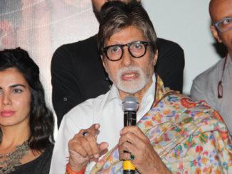 Amitabh Bachchan at Pink success meet
