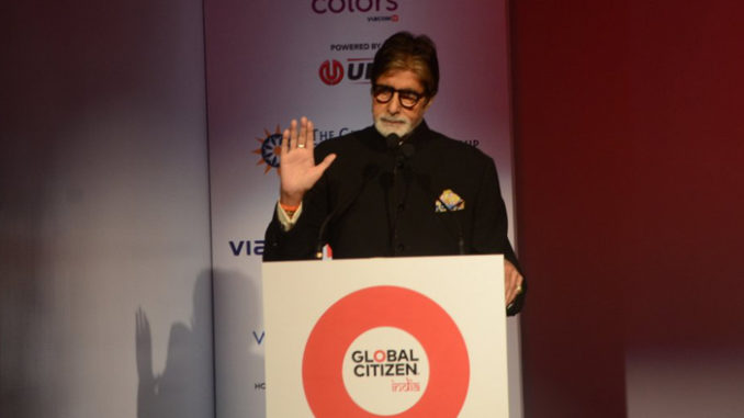 Amitabh Bachchan at Global Citizen India event