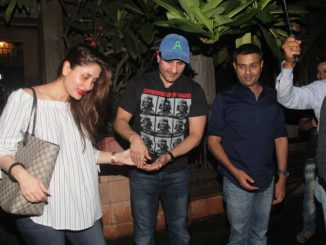 Kareena Kapoor Khan, Saif Ali Khan snapped after dinner at Pali Bhavan