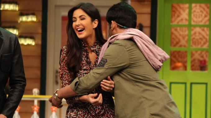 Katrina Kaif, Kapil Sharma on The Kapil Sharma Show