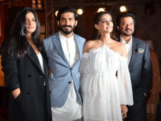 Rhea, Harshvardhan, Sonam and Anil Kapoor