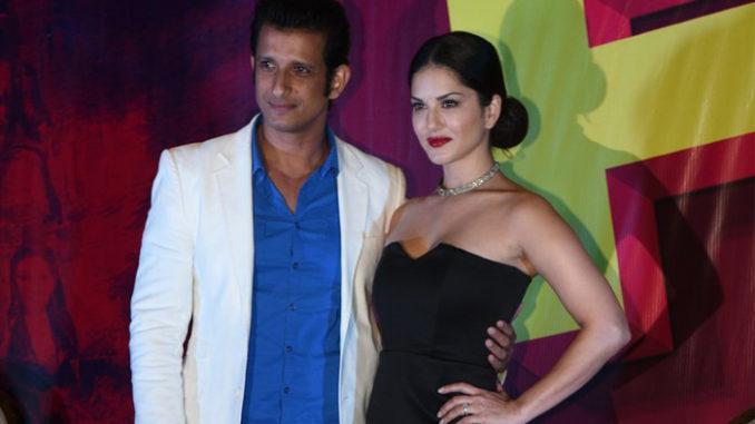 Sharma Joshi, Sunny Leone at Fuddu song launch