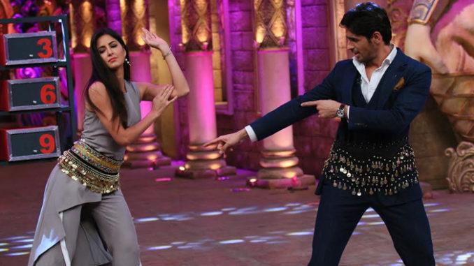 Sidharth Malhotra, Katrina Kaif belly dance on Comedy Nights Bachao