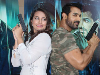 Sonakshi Sinha, John Abraham at the trailer launch of Force 2