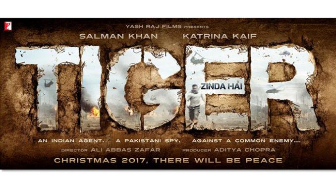 Tiger Zinda Hai Title Poster