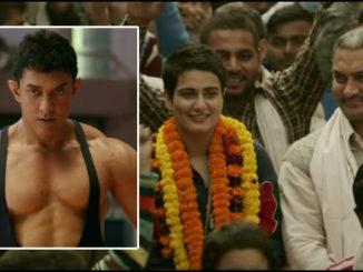 Aamir Khan with his onscreen daughter in Dangal trailer